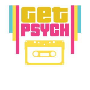 Holen Sie sich Psych Vintage 80er Casette Tape Rot Gelb Grün