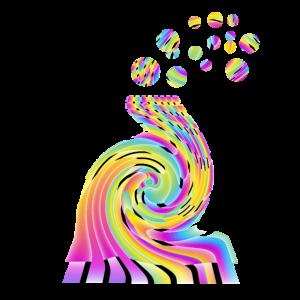 Regenbogenelefant