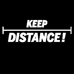 Keep distance!
