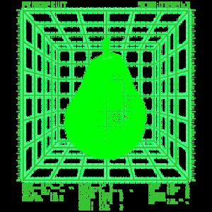 Birne | Futuristisch | Chemischer Birnen Scan
