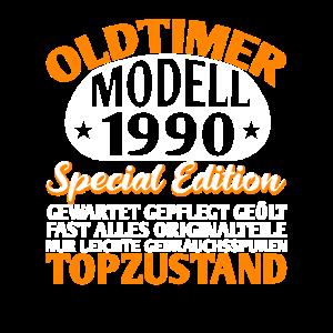 30. Geburtstag Oldtimer 1990 Top Zustand Geschenk