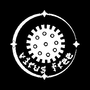 Virus free - Corona Virus Awareness Design