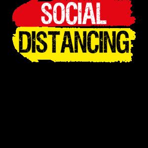 Social Distancing Antisocial Abstand