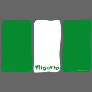 NIGERIA FLAG, AFRICA Textiles and Gifts