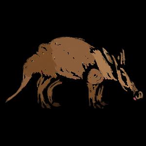 Aardvark / Erdferkel Design I