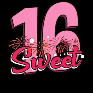 Sweet 16 - 16. Geburtstag - süße 16 Jahre