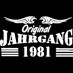 1981 , Original Jahrgang .../+