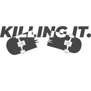 KILLINGIT (White shirt)
