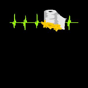 Toilettenpapier Nudeln