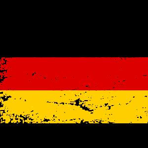 Flagge Deutschland Schwarz Rot Gold