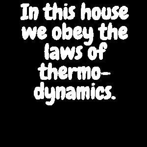 Thermodynamik GesetzeParents Adults Children Zitat