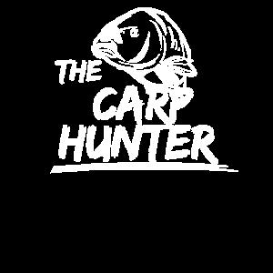 Angel Motiv der Karpfen Jäger