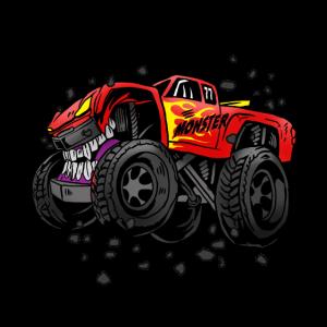Monster Truck Cool Motorsport Trucker Geschenkidee