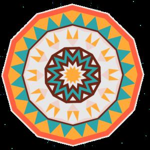 Azteka- Mandala der Sonne