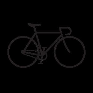 Fixie bike black