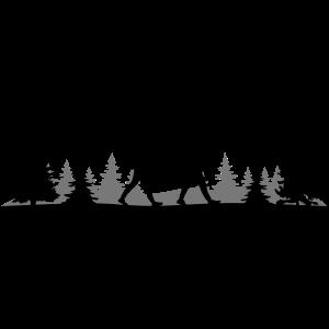 WANDERN Wanderer Bäume Wald Berge