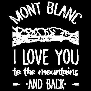 Mont Blanc Alpen