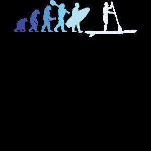 Stand Up Paddling Evolution See SUP Fluss Geschenk