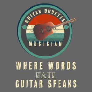 Guitar Dudette 2