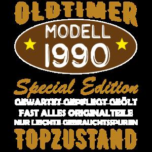 Oldtimer Modell 1990 Geburtstag Geschenk