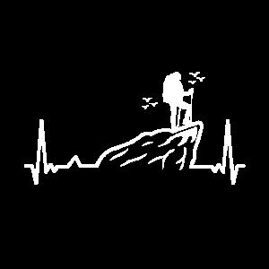 Wandern Herz