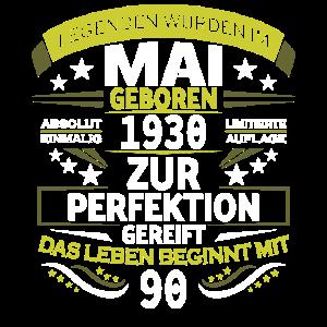 Legenden Wurden Mai 1930 Geboren 90. Geburtstag 90