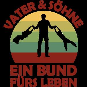 Vater & Söhne. Ein Bund für Leben. Vatertag.