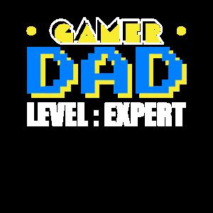 Gamer Dad Vater Papa Vatertag Geschenk