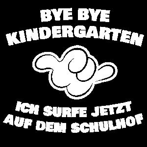 Bye Bye Kindergarten Surf Shirt für Jungs