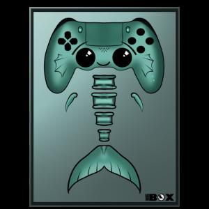 Controller-Fisch Gaming Gamer Konsole
