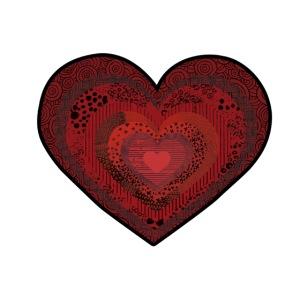 corazón de patrón