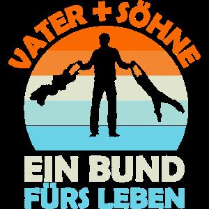 Vater + Söhne. Ein Bund für Leben. Vatertag.