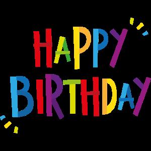 Geburtstag Jahre Geschenk Happy Birthday Ehrentag