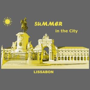 Sommer Lissabon Portugal Hauptstadt City Palast