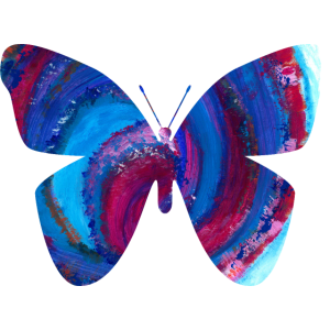 Butterfly transparent