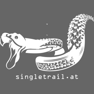 Single Trail Snake in Weiss