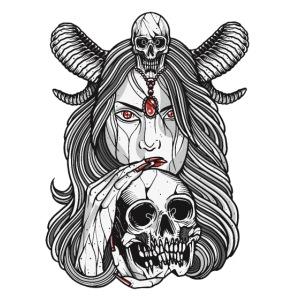Woman Horns