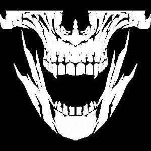 Maske Mundschutz Totenkopf Schutzmaske Corona