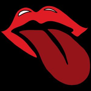 Zunge und Mund
