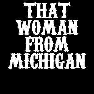 Diese Frau aus Michigan