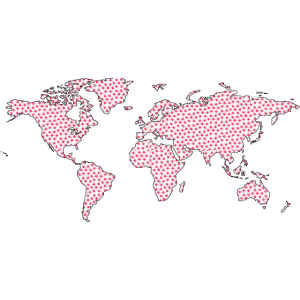 Welt unter Virus