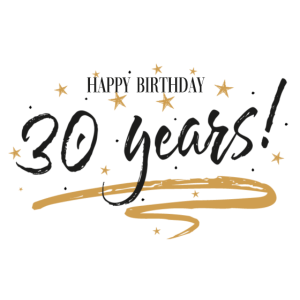 30 dreissig thirty birthday