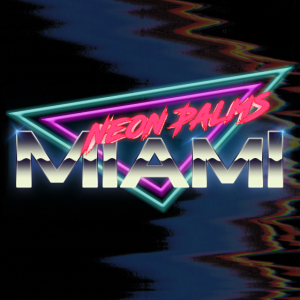 Neon Palms Traingle Version2