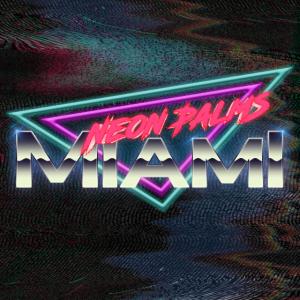 Neon Palms Traingle Version3