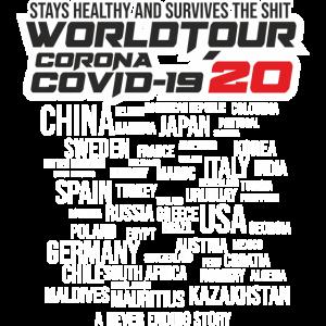 CORONA WORLD SURVIVAL TOUR 2020