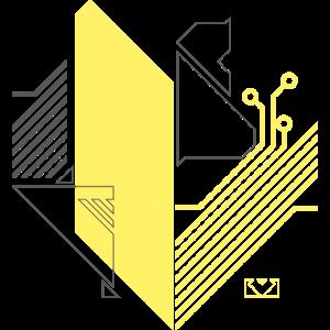 Psyborg Syntetic Heart Yellow Gray