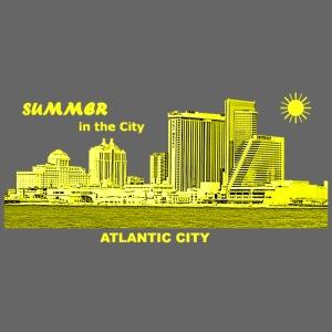 Sommer Atlantic City New Jersey Skyline Sonne
