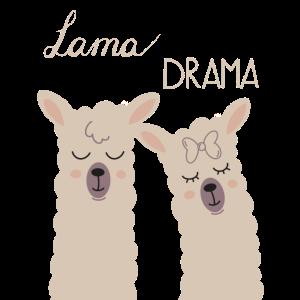 Lama Pärchen Paar Beziehung