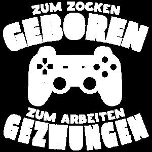 Gamer Computerspieler Zocker Geburtstagsgeschenk