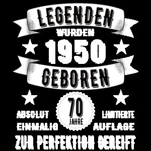 70. Geburtstag Legende seit 1950 70 Jahre Geschenk